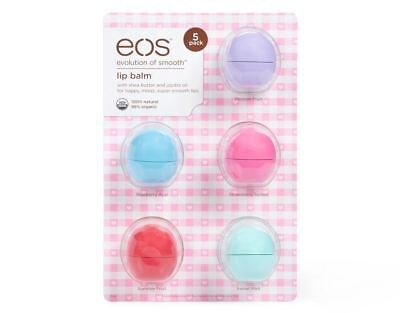 - EOS Lip Balm 5 Pack 100% Natural