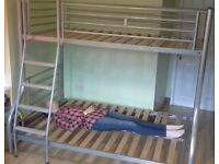 Jay-Be Triple3 bunk bed (single over double, no mattresses)