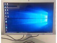 """Dell SP2208WFPt DVI/HDMI Blu-ray 720p 22"""" Widescreen LCD Monitor 2MP Webcam, USB"""