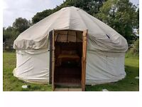 Yurt holiday, Devon by coast and national park. Romantic space End of season price Beautiful views