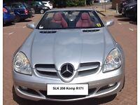 SLK 200K Convertible R171 Extremely reliable, fun to drive, a real head turner