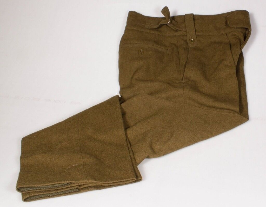 British Army - No.2 Khaki Dress Trousers