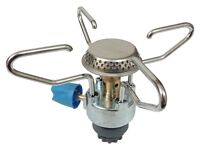 Campingaz stove with 4 cv470 large cans Resealable Gas Cartridge - 4 Pack 2 full 2 half full
