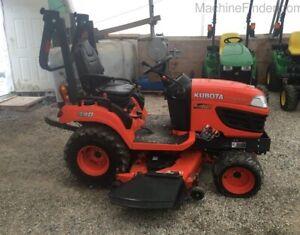 2015kubotaBX2670 Compact Utility Tractor
