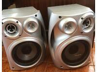 Pair of Panasonic Speakers.....free local delivery
