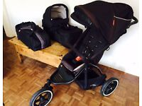 Phil & Teds Navigator Buggy, Carrycot & Snug with accessories. Excellent Condition.