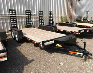 5 Ton Miska Low Bed Float Trailers - Canadian Made