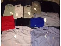 *BRAND NEW* AUTHENTIC RALPH LAUREN COLLECTION - SHIRTS, T-SHIRTS, LONG-SLEEVED POLO, ETC