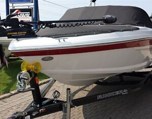 2016 Rinker 186 Fish & Ski V-6 & trailer