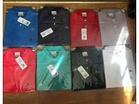Lacoste and ralph lauren polo shirts