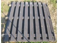 Heavy Duty Reclaimed Timber Wooden Fence Panels Nr Brighton 5 Available