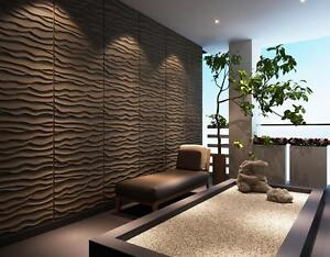 3D Wall Panels - Dunes and Stones (32 Square Feet)
