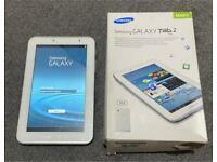 Samsung Galaxy Tab 2 White 7 inch Screen 8Gb Wifi