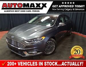 2017 Ford Fusion SE AWD w/Leather/Nav/Roof!