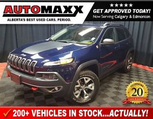 2015 Jeep Cherokee Trailhawk w/ Leather/Roof/Nav!