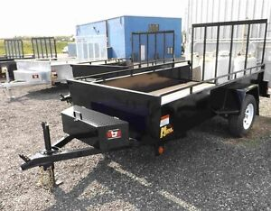 5'x10' Homeowner Package Utility Trailer - Factory