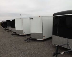 Miska 6' Wide Enclosed Trailers
