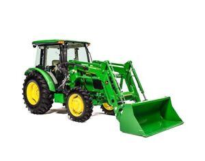 John Deere 5075E Utility Tractor