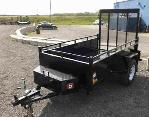 4'x8' Utility Trailer - Contractor Package
