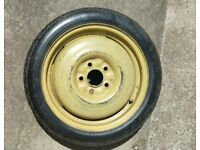 Space saver spare wheel (used on Toyota Prius 03-09 models).