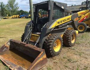 2010 New Holland L180 Skid Steer