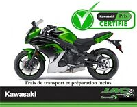 2016 Kawasaki Ninja 650 ABS Touring 30.08$*/sem **Garantie 2 ans