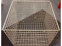 Metal Cage Basket Warehouse Storage