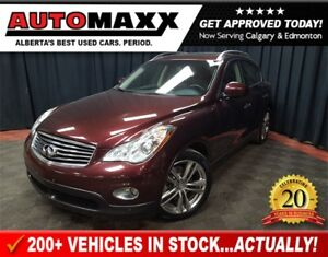2012 Infiniti EX35 Luxury w/Leather/Nav/Sunroof!