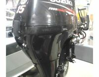 2012 SUZUKI 15HP Outboard Motor - Warranty Until 2018!