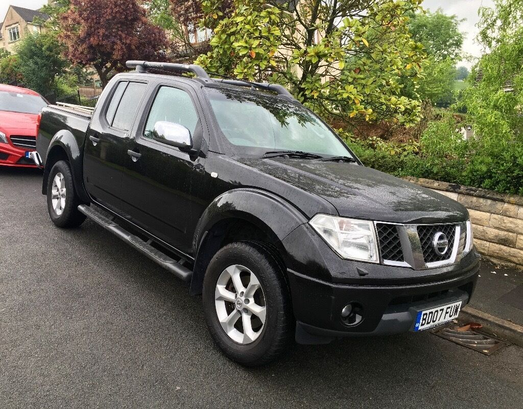 nissan navara outlaw 2007 double cab pick up 2 5 dci in. Black Bedroom Furniture Sets. Home Design Ideas