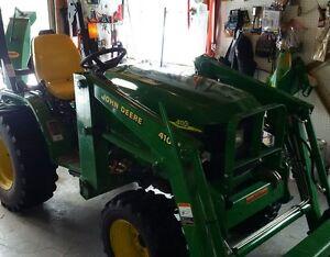 2005 John Deere 4110 Compact Tractor