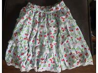 Lolita Cherry Skirt M/L