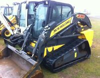 2012 New Holland C232 Compact Track Loader with Ca