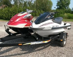 Pair of Yamaha Waverunners