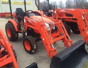 2017 Kioti CK2510 Tractor with Loader