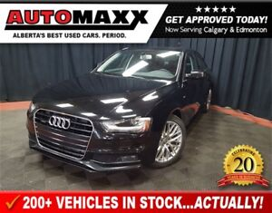 2016 Audi A4 2.0T Komfort plus w/Leather/Sunroof!