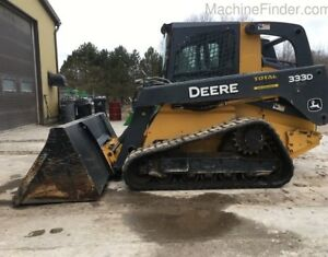 2012 John Deere CT333D Skid Steer