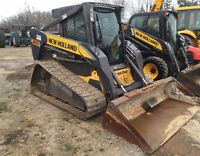 2007 New Holland C185 Compact Track Loader with Ca