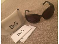 Genuine D&G Tortoise Shell Sunglasses