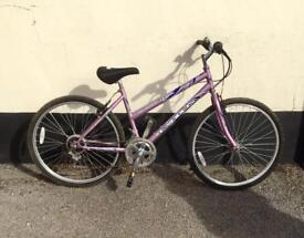 Ladies mountain bike 17'' frame £45