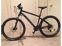 BTWIN Mountain Bike With Front Suspension + Disc Brakes