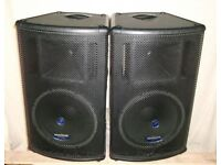 "Mackie SA1521 Active 15"" 2-way Speakers - £499 the pair"