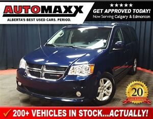 2015 Dodge Grand Caravan Crew w/Leather/Nav!