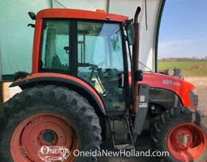 2007 Kioti DK90 Tractor with loader and snow blade