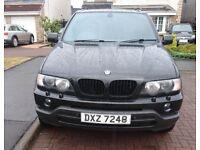 BMW X5, semi automatic, black