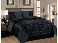 COLOURED 4PC DOUBLE BED SET