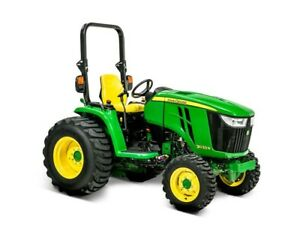 John Deere 3033R Compact Utility Tractor