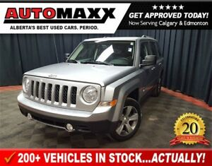2016 Jeep Patriot High Altitude 4x4 w/Leather/Sunroof!