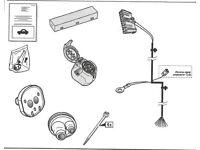 SAAB towbar electrical wiring kit