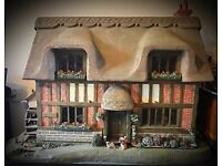Rare mill cottage dolls house